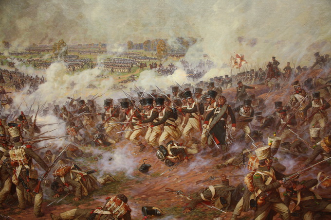 1812 год в живописи - Катаклизмы и повседневность