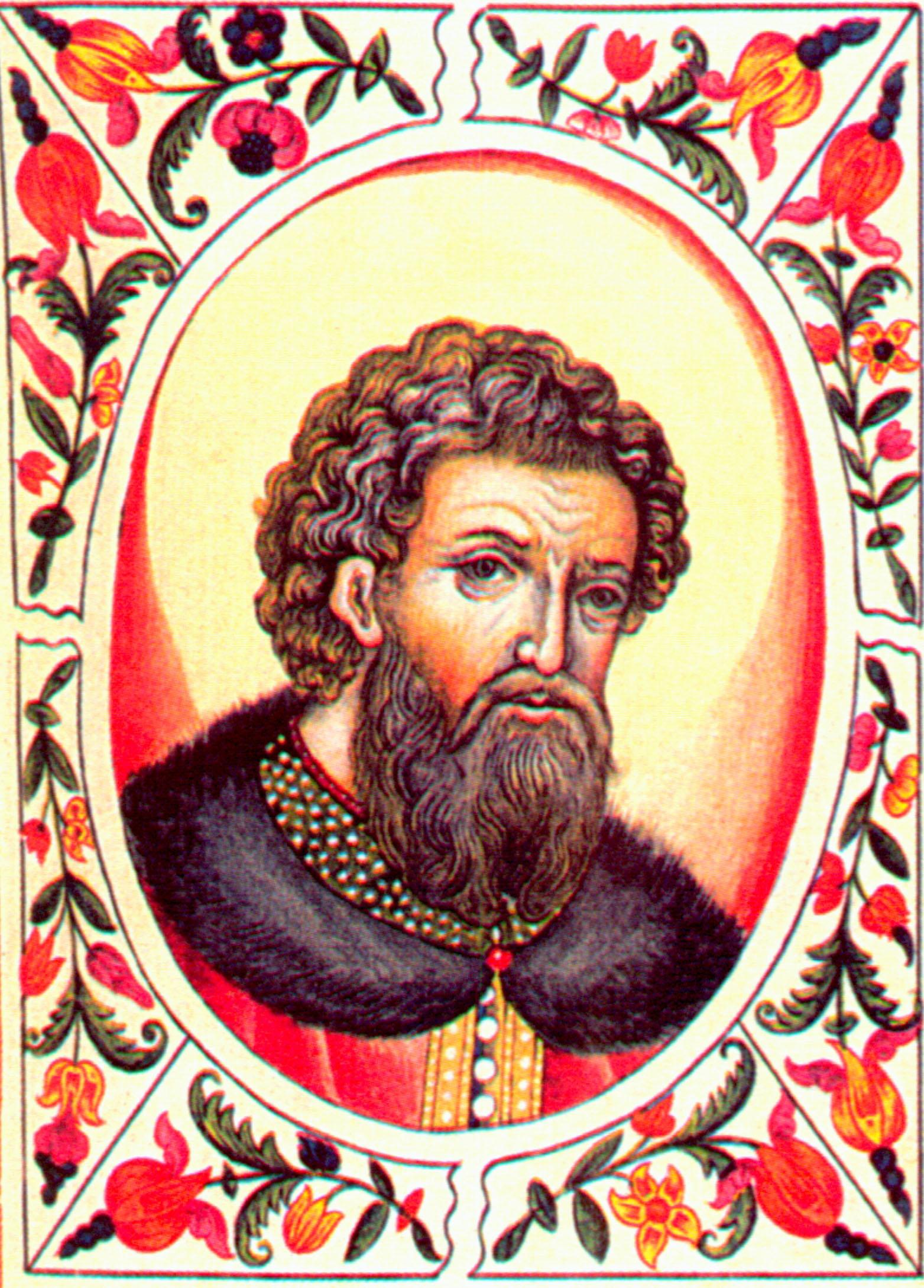 Великий князь владимирский Александр Ярославович Невский.