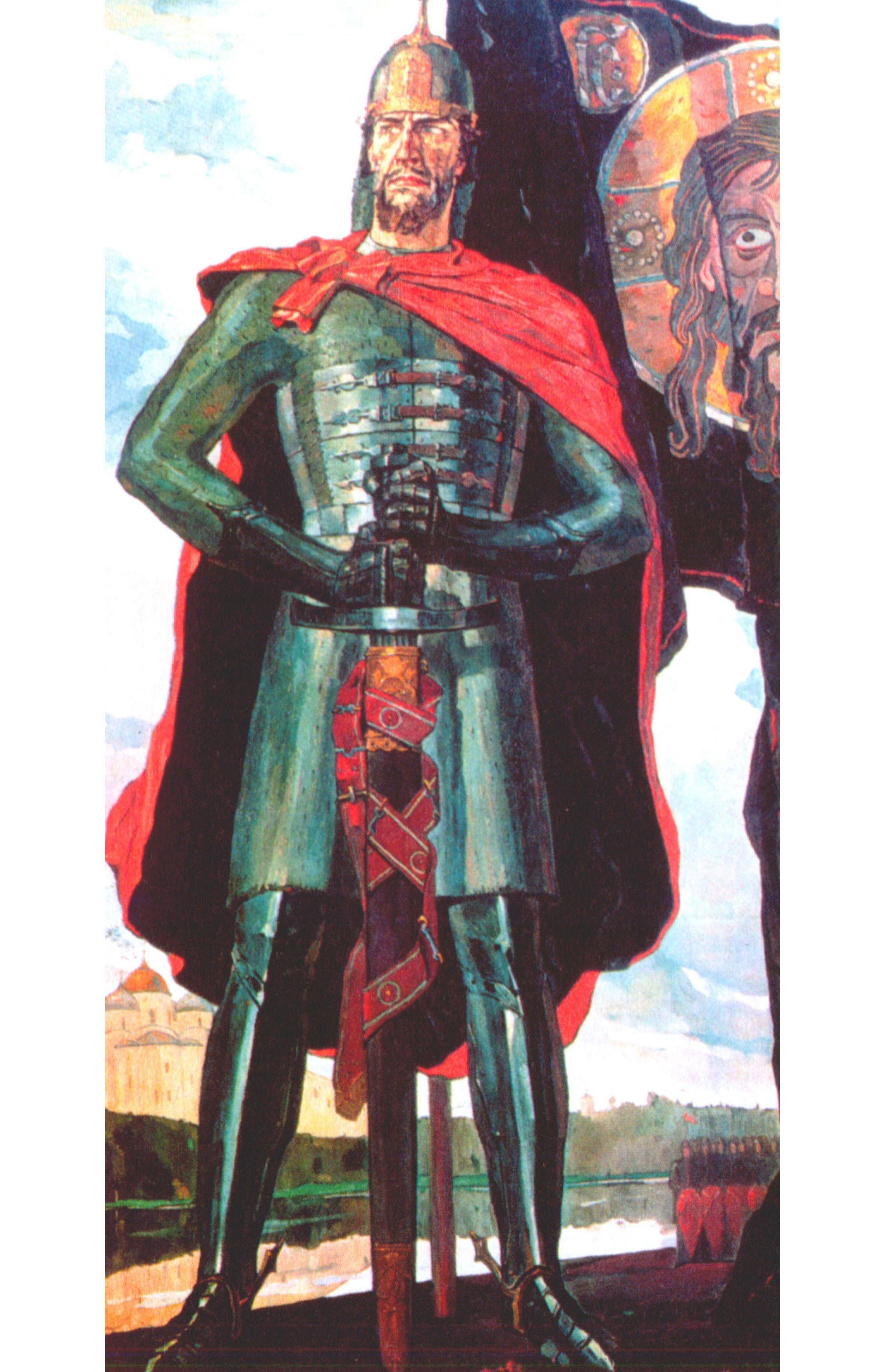 """Павел Корин. """"Александр Невский"""". 1942."""