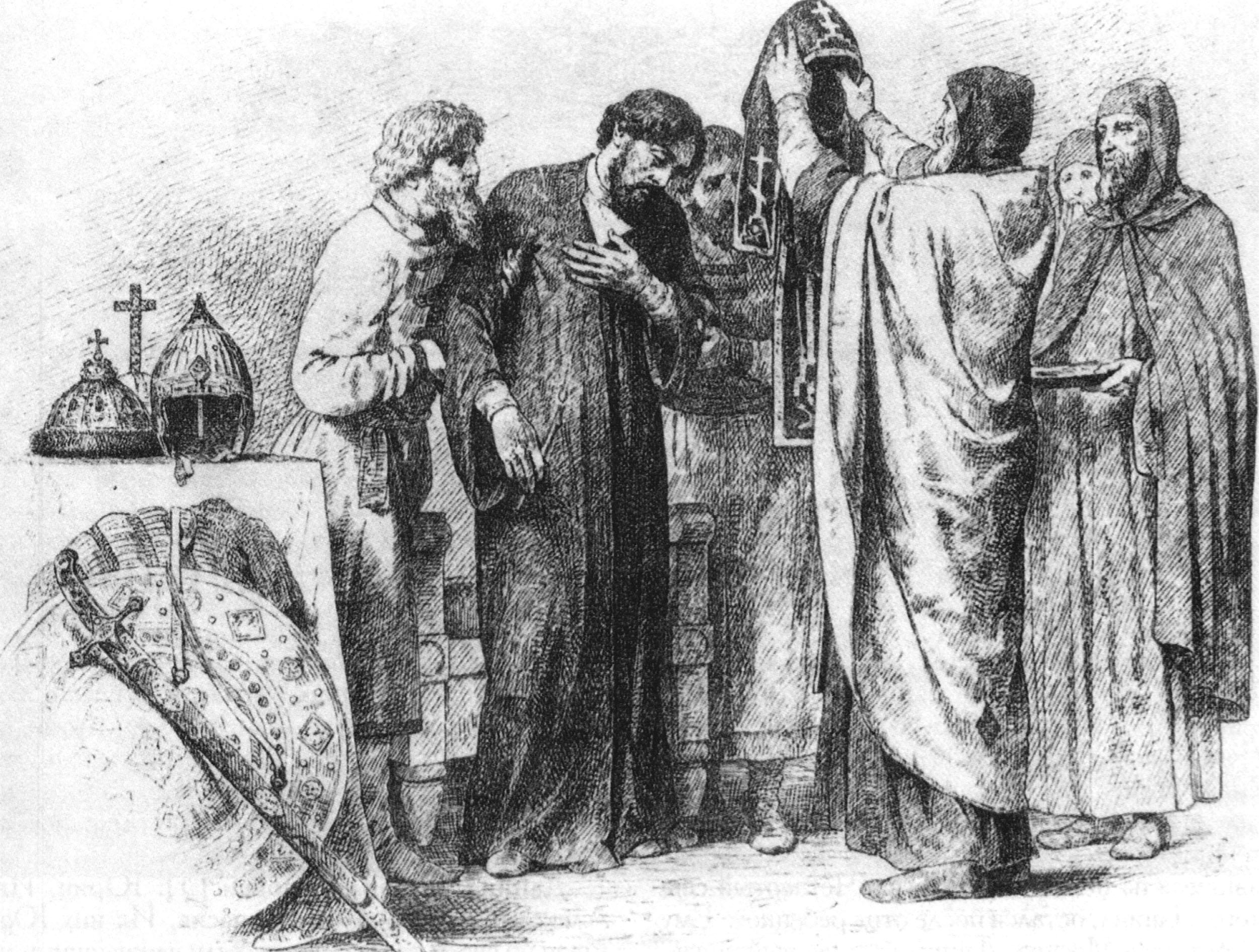 "В. Верещагин. ""Великий князь Александр Ярославич Невский""."