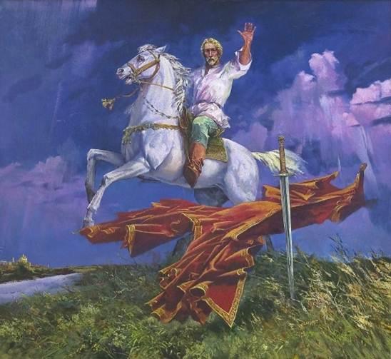 "О. С. Маслов. ""Не в силе Бог, но в Правде. Александр Невский№."