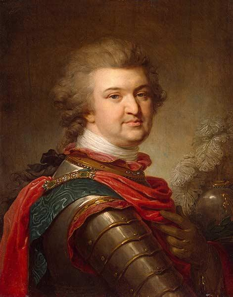 И. Лампи Старший. Григорий Александрович Потёмкин, князь Таврический. Около 1790.