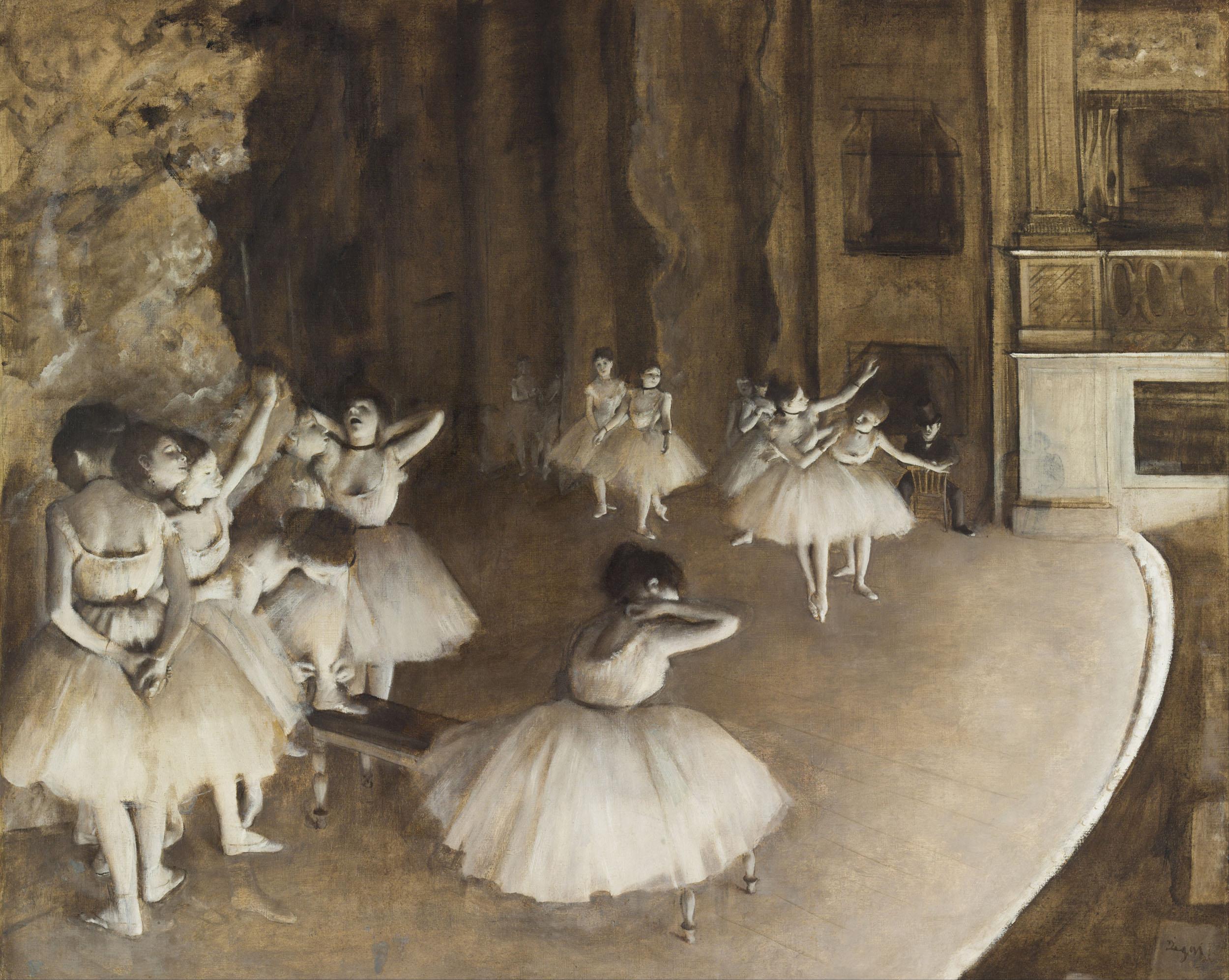 Фото репетиции балерины 12 фотография