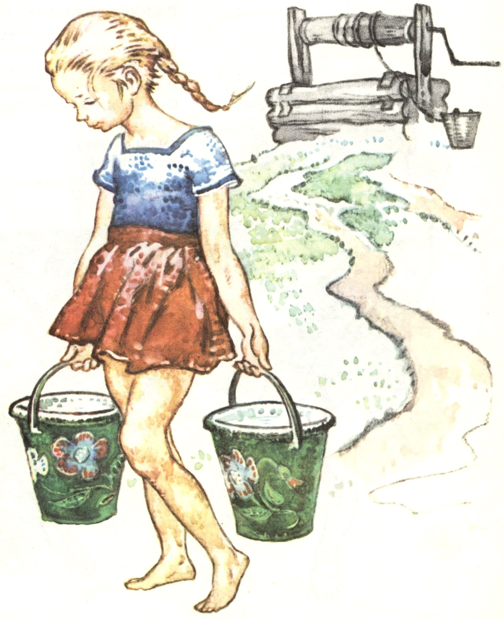 Картинки к произведениям о труде для детей по фгос