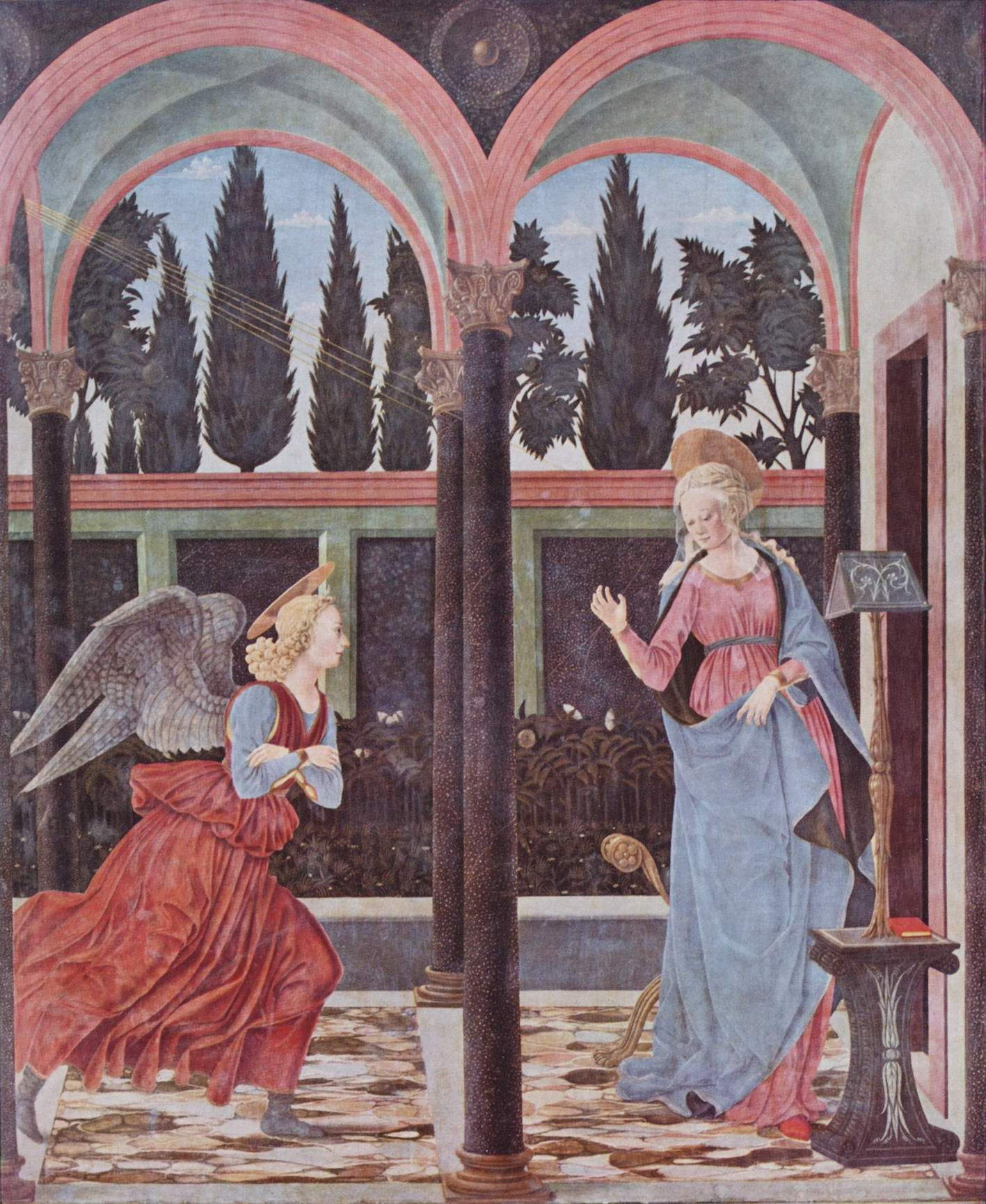 А. Бальдовинетти. Благовещение Марии.