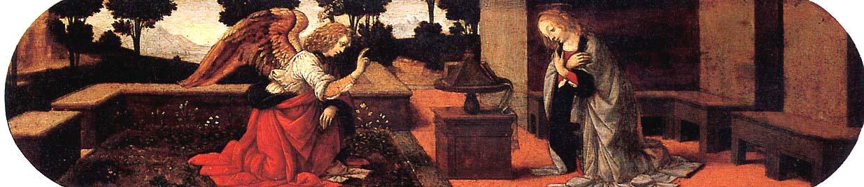 Лоренцо ди Креди или Леонардо да Винчи. Благовещение.
