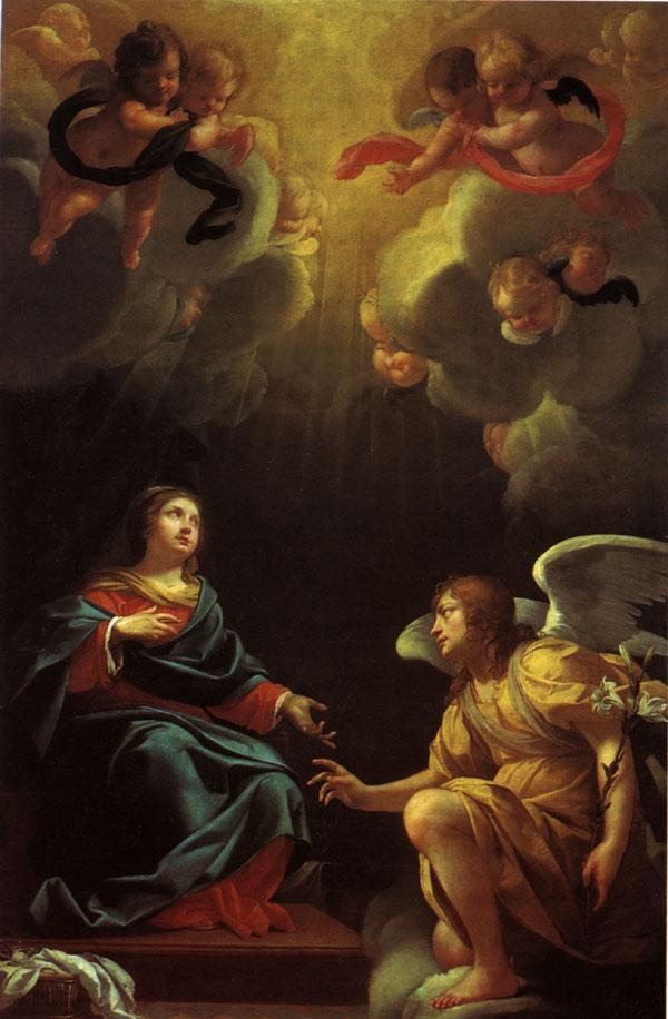 Симон Вуэ. Благовещение. 1632.