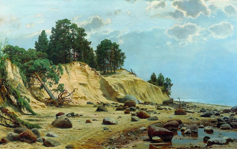 И. Шишкин. После бури. Мери-Хови. 1891.