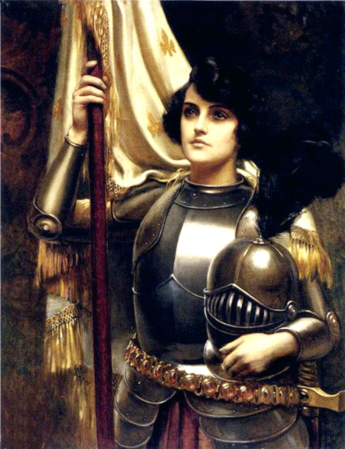 saint joan of arc essay Joan of arc was many things: a peasant, warrior, leader, saint, and martyr she heard voices in her head and attributed them to the words of saints, specifically st catherine, st margaret, and st michael.