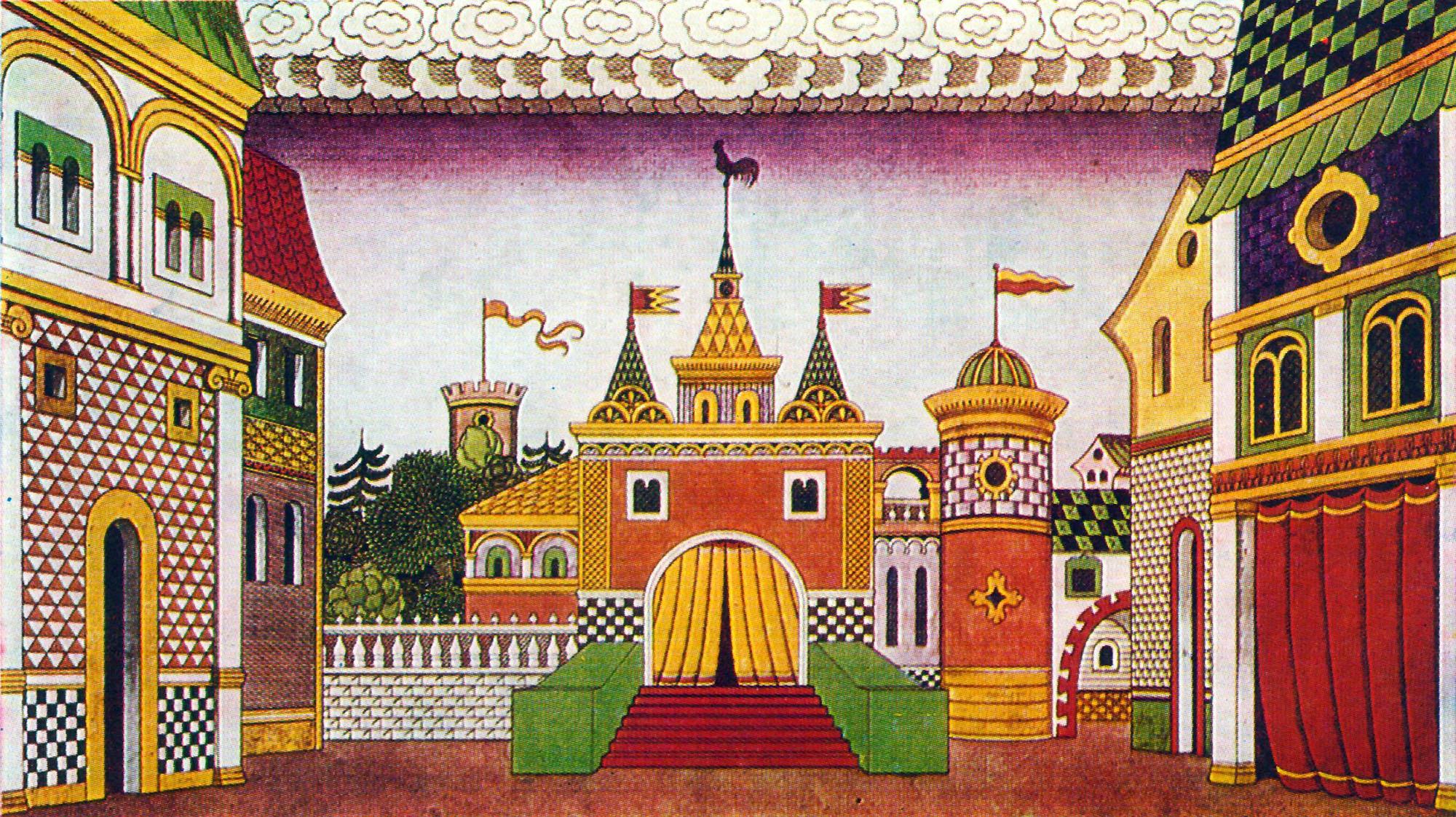 боятся, дворец в сказках картинки был двадцать лет