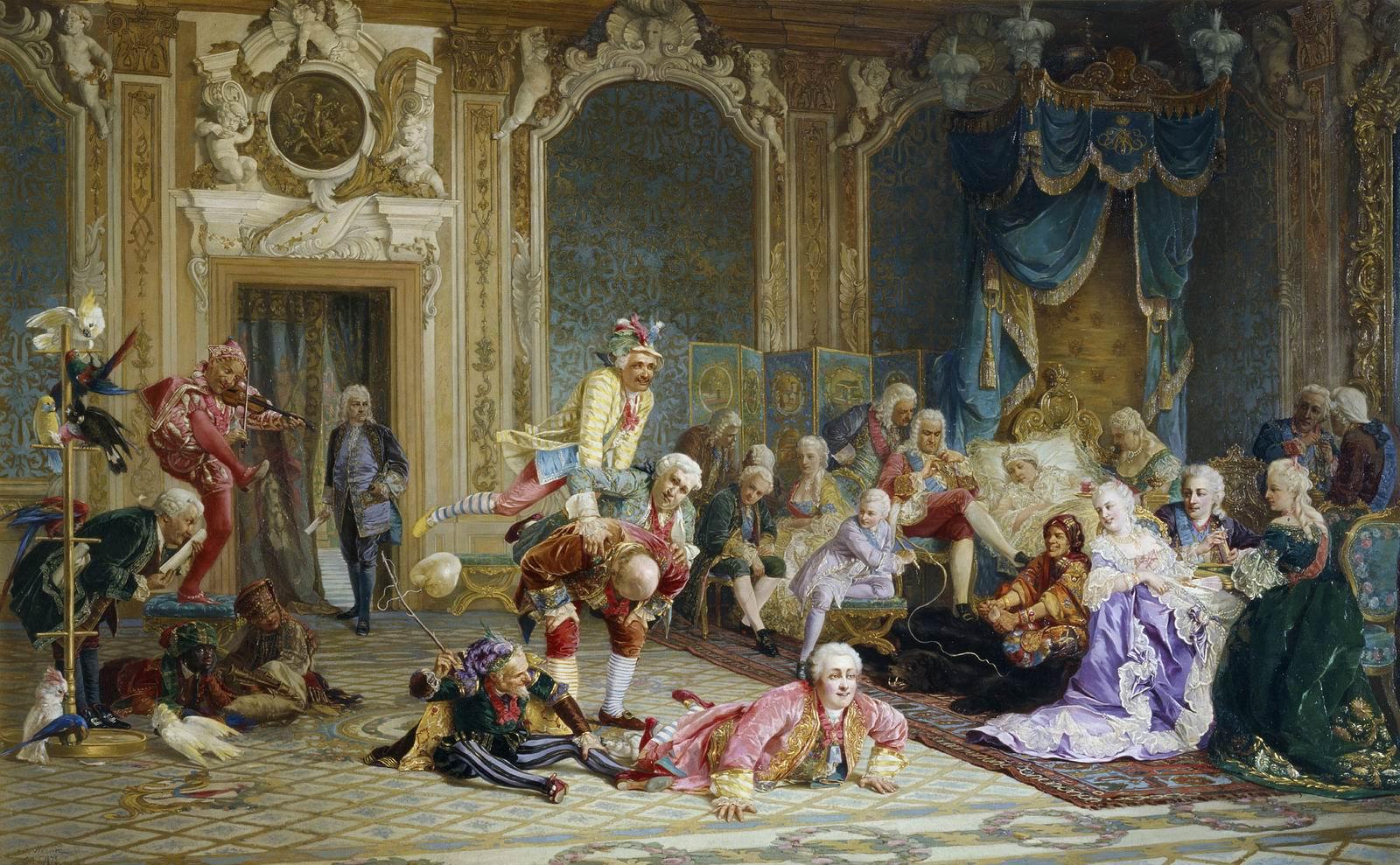 Секс при царском дворе государя 5 фотография
