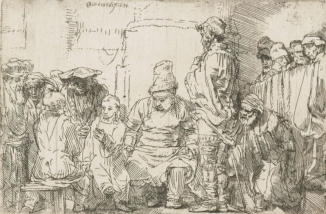 Иисус Христос в живописи и графике Рембрандта Харменса ван Рейна.
