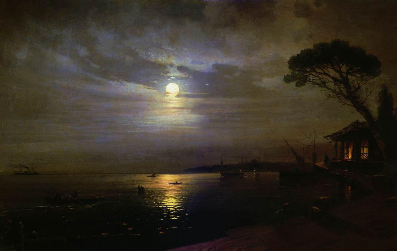 этом к айвазовский лунная ночь картинка отличаются толщиной