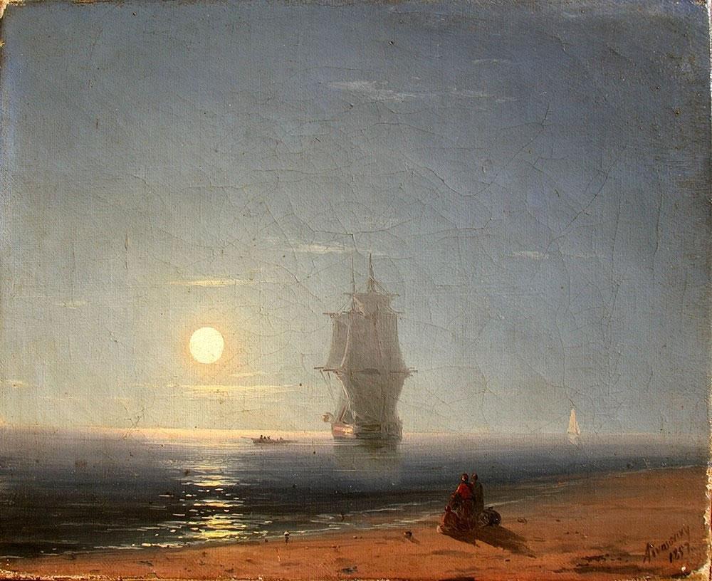 территории картина айвазовского море в лунном свете картинки поместить мольву
