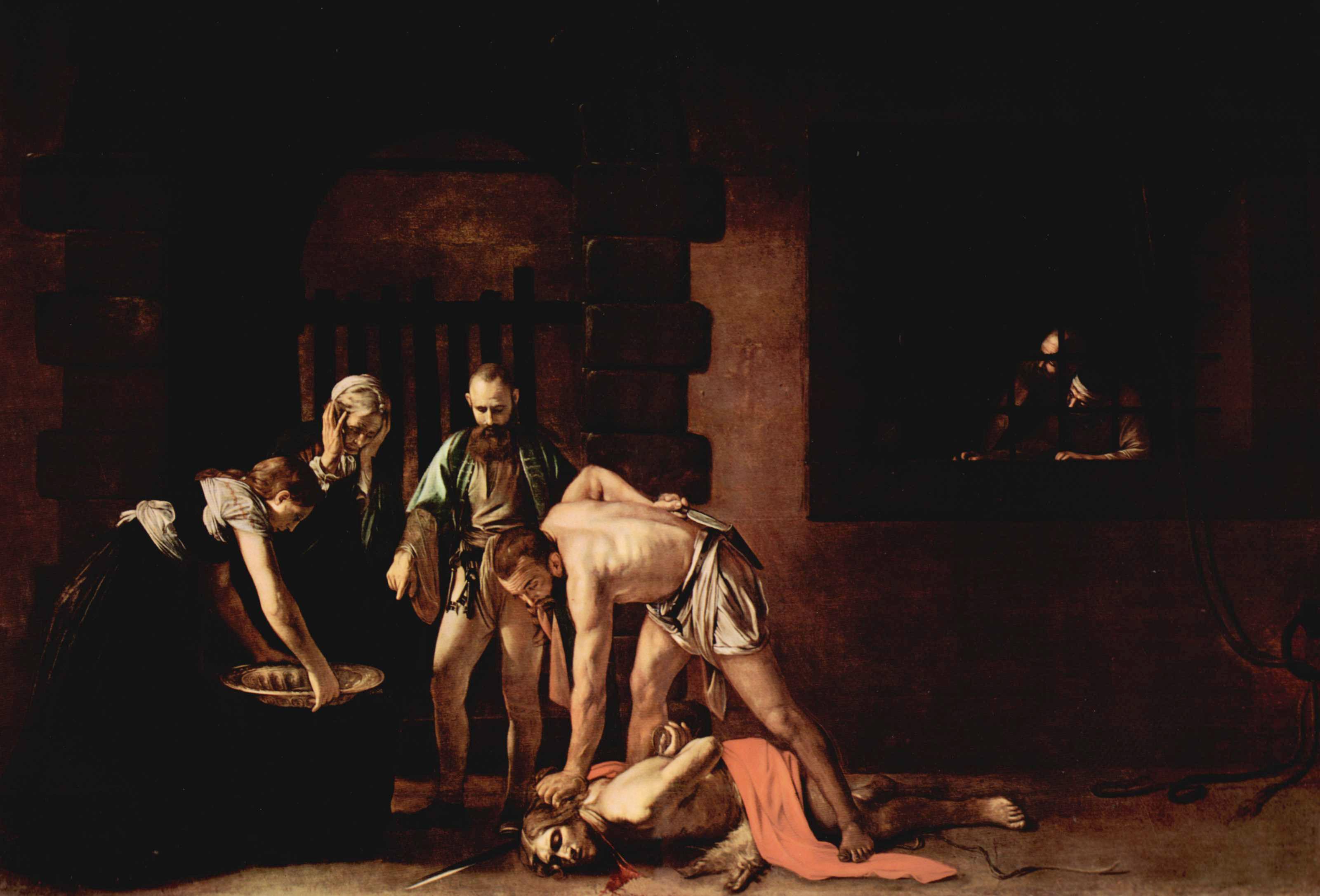 караваджо. Усекновение главы Иоанна Крестителя. Около 1608.