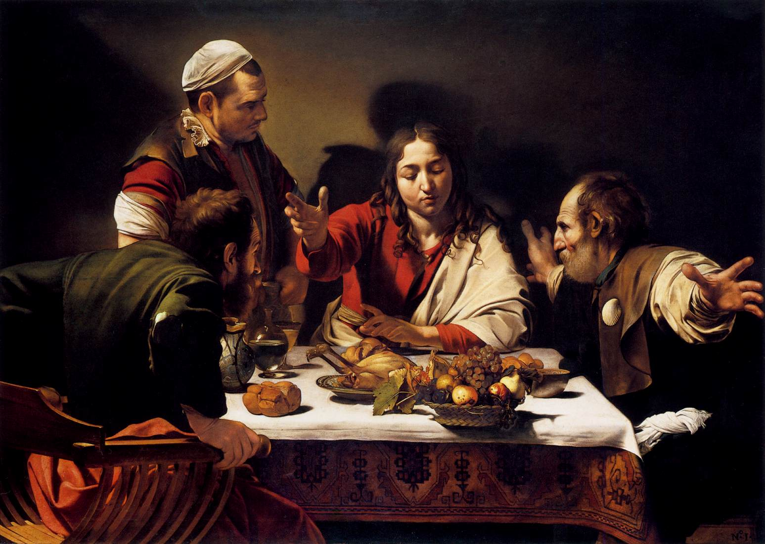 an analysis of the symbolism of blood and its use in the story of caravaggio