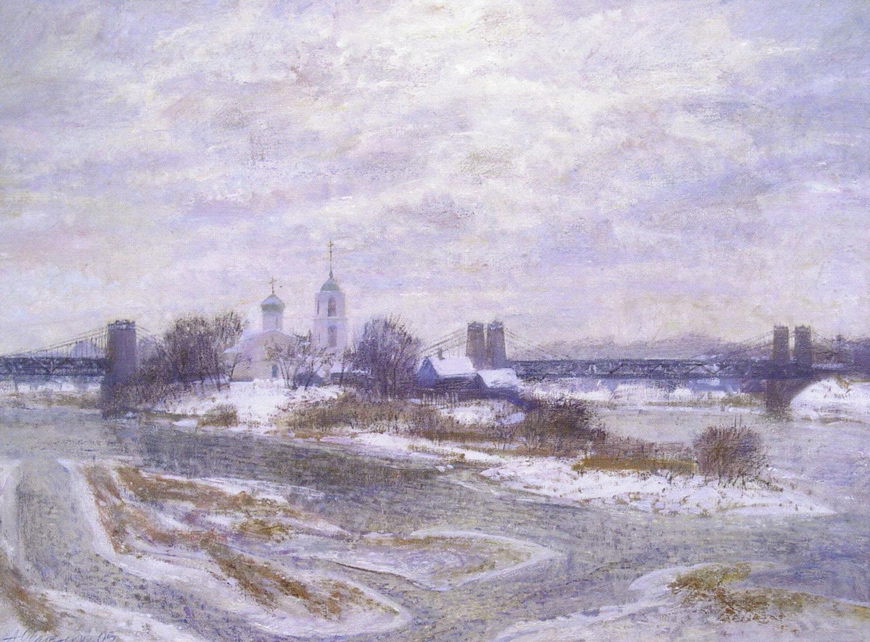 Александр Оболенский. Висячие мосты. 2005.