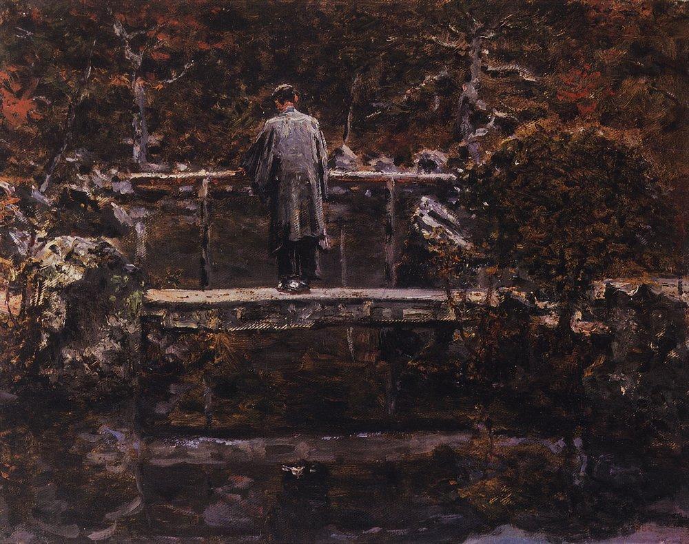 Василий Верещагин. На мосту.