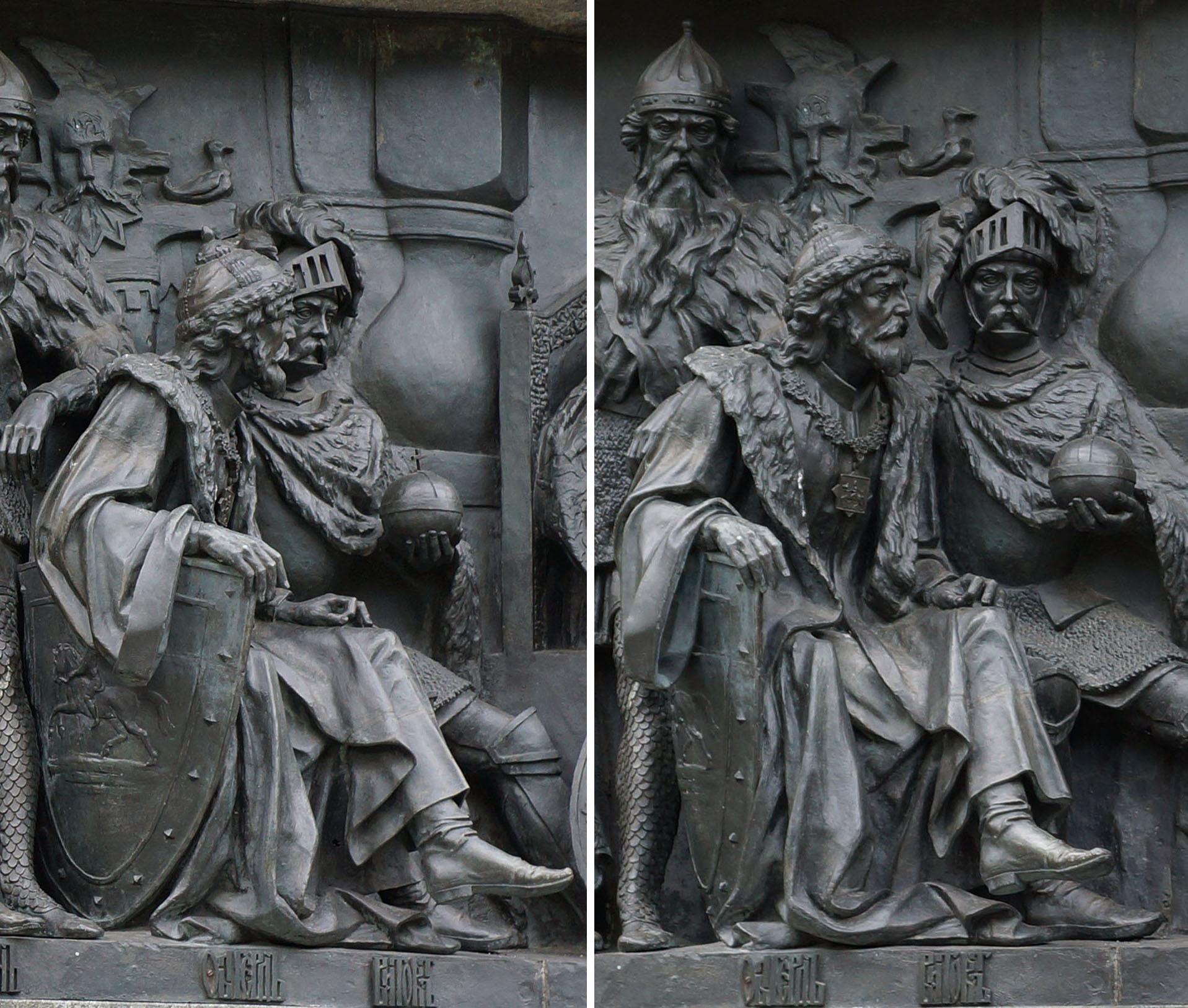 Ольгерд (1345-1377), великий князь Литовский.