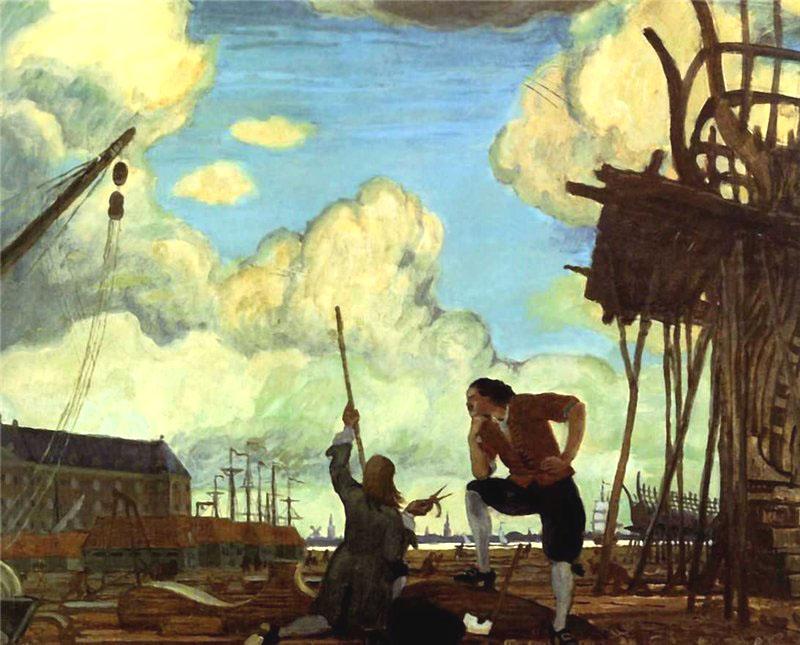 голландская верфь