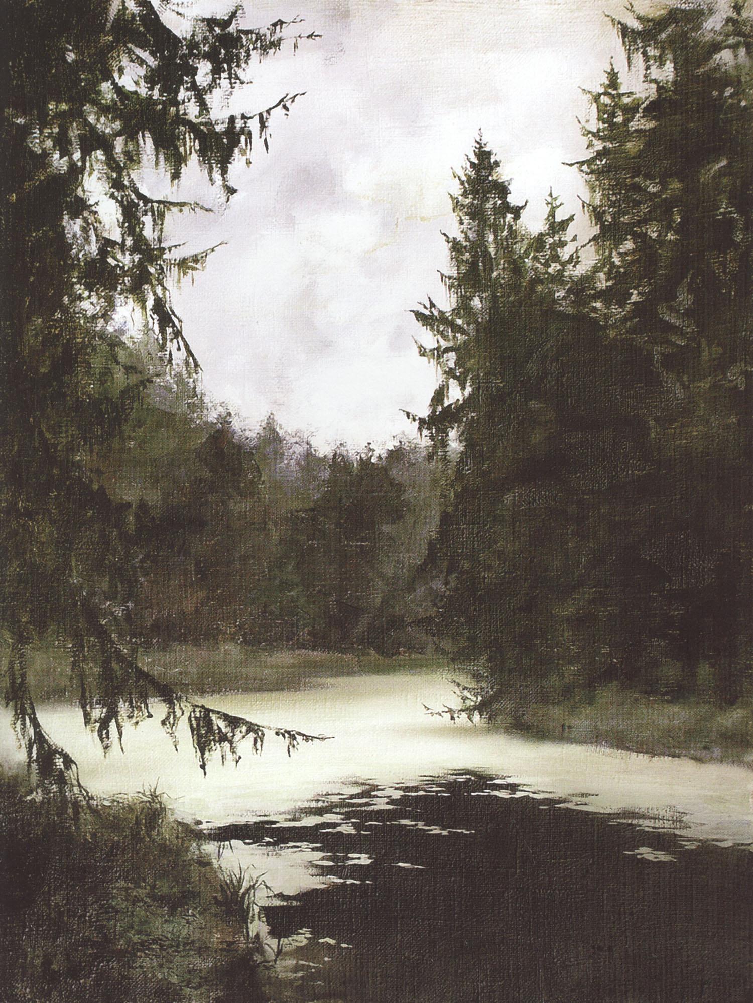 пруд в живописи