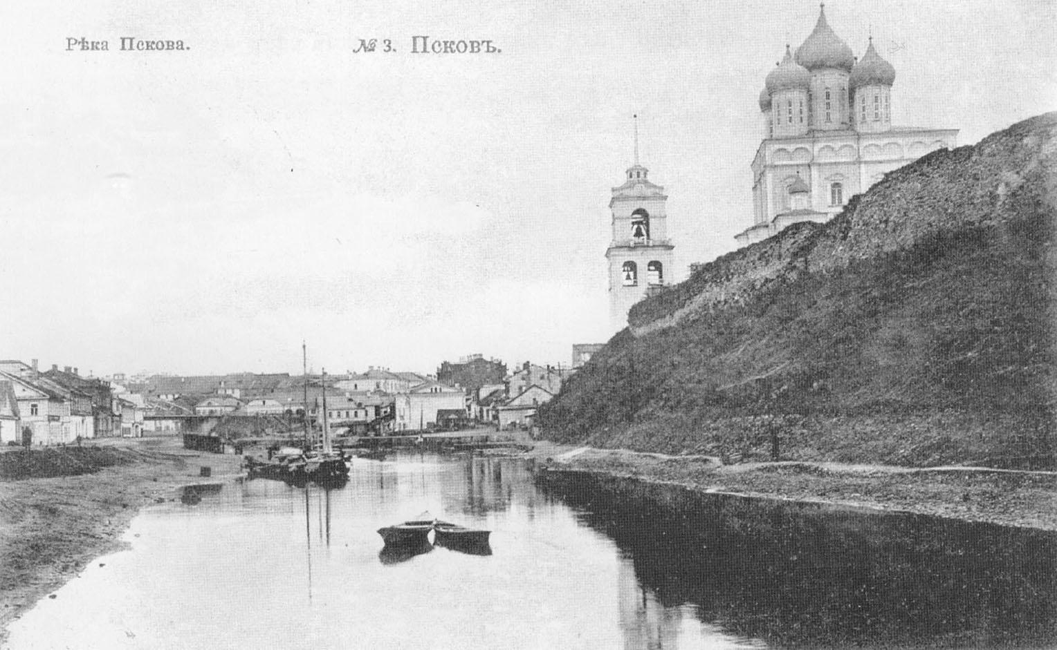 Псков. Река Пскова.