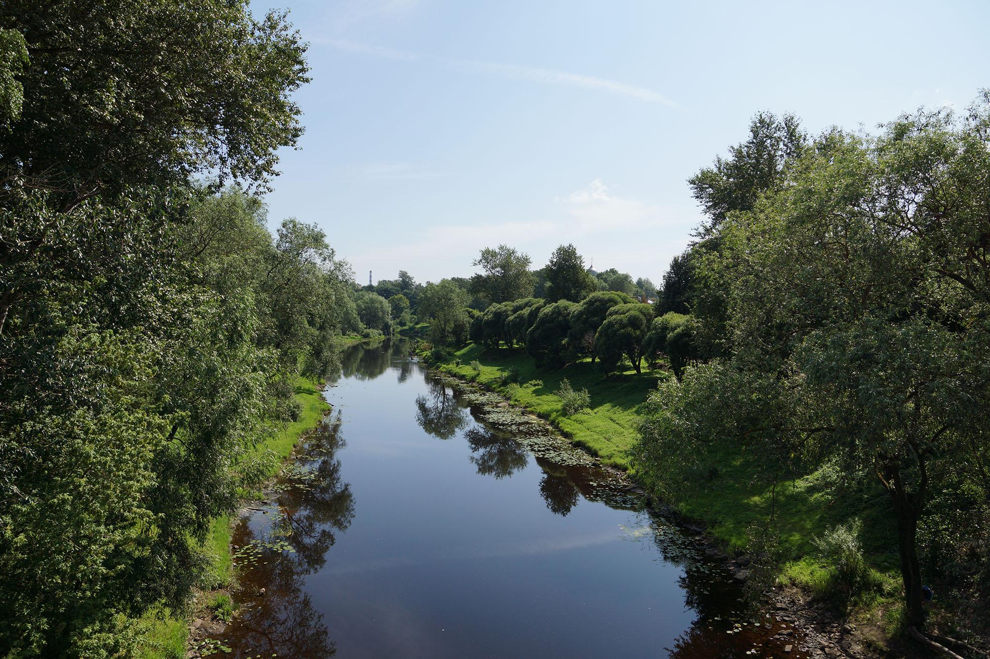 Фото реки псковица