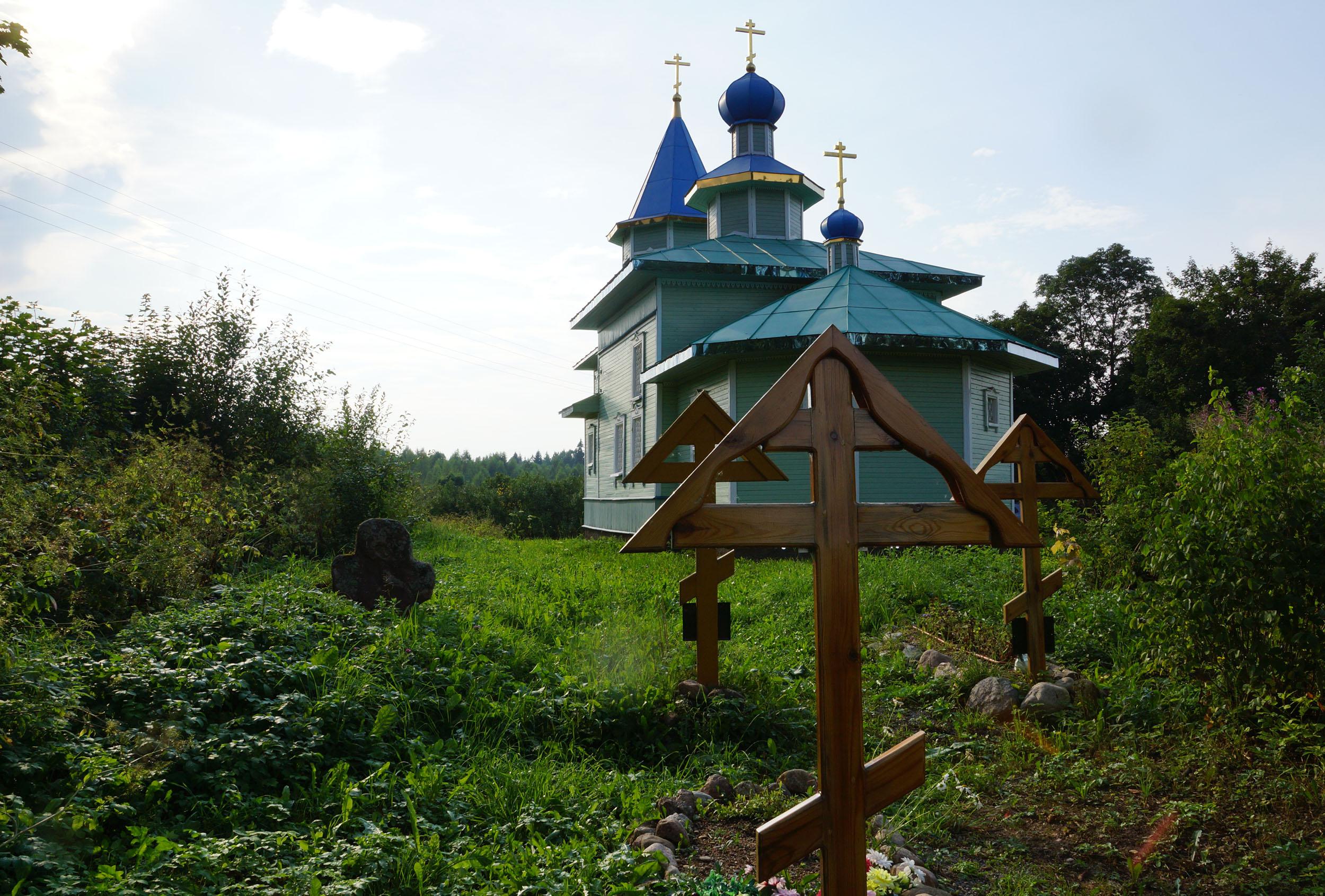 Бардово, Бежаницкий район, Псковская область. Погост Бардово.