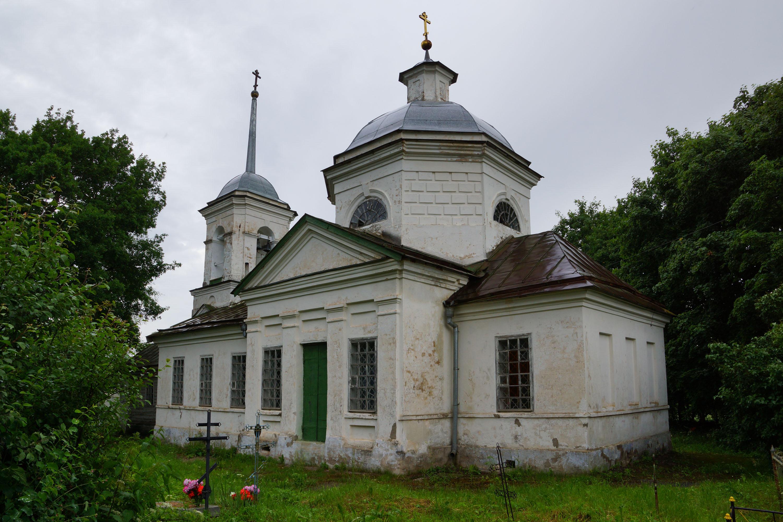Дворцы, Бежаницкий район, Псковская область. Церковь Никольская.
