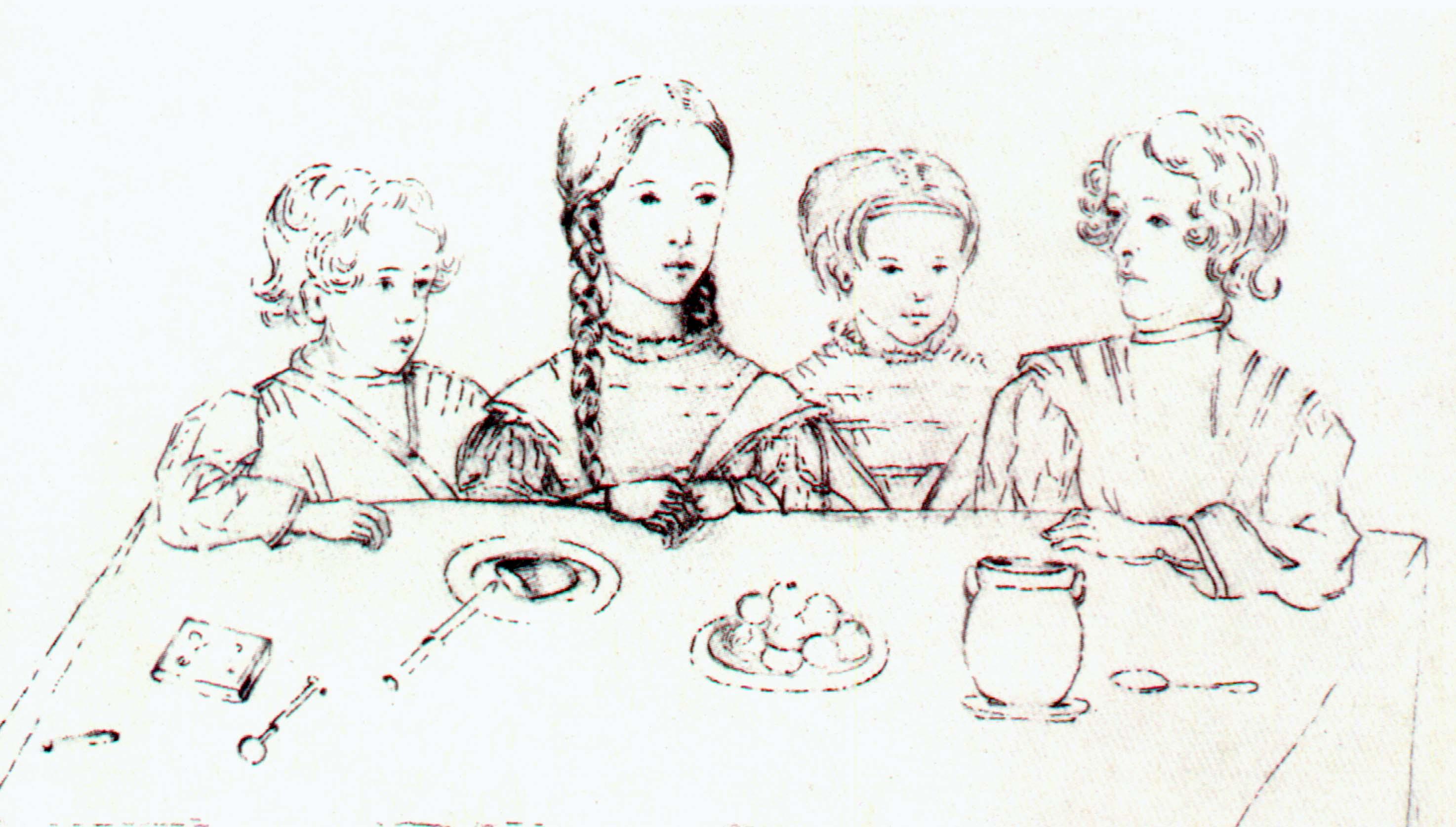 Сколько детей было у пушкина фото
