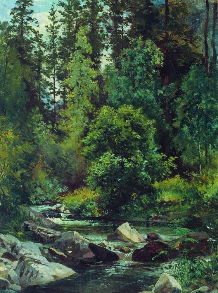знакомство с пейзажной живописью и.шишкин