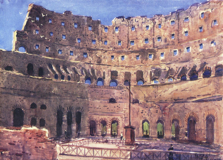 римская живопись: