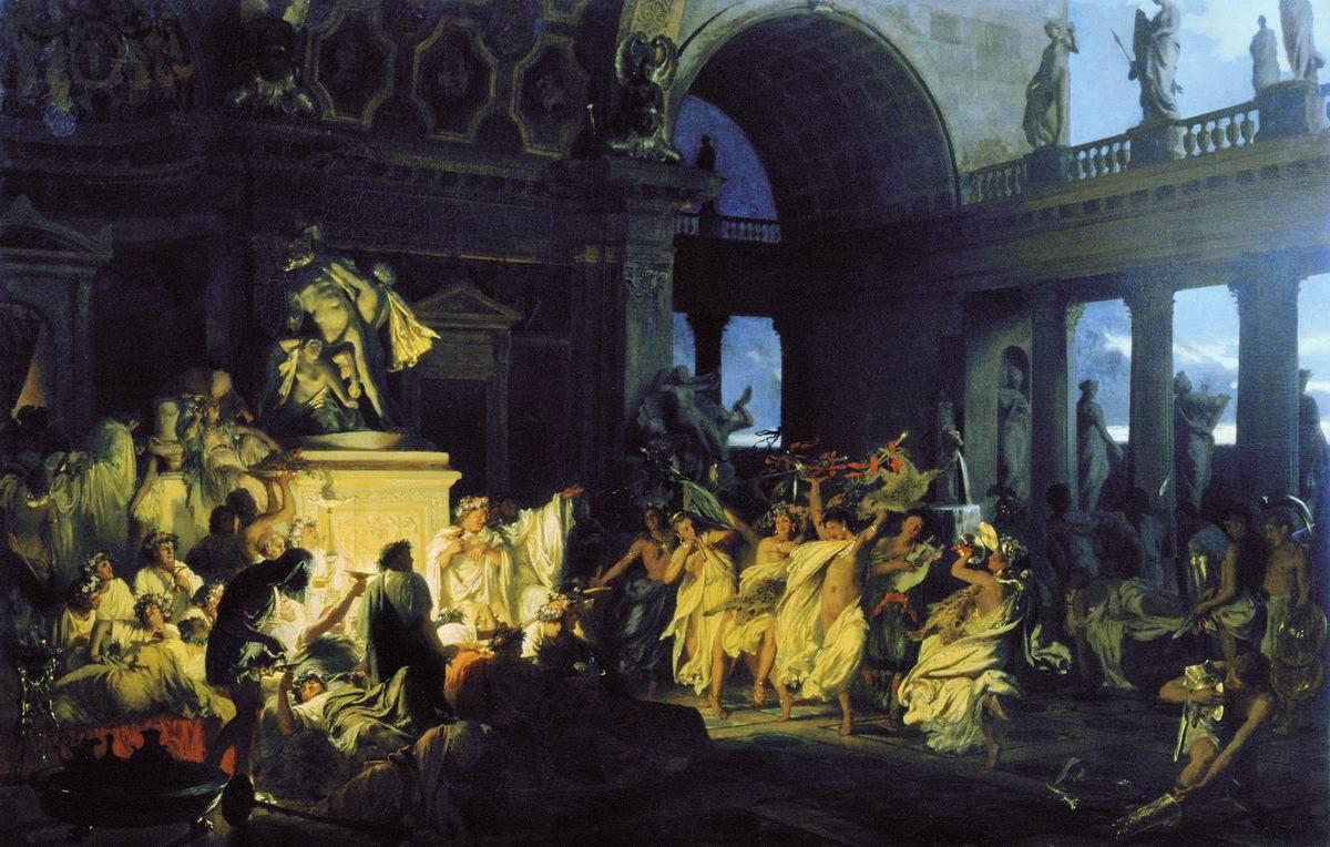 Римская империя оргии 4 фотография