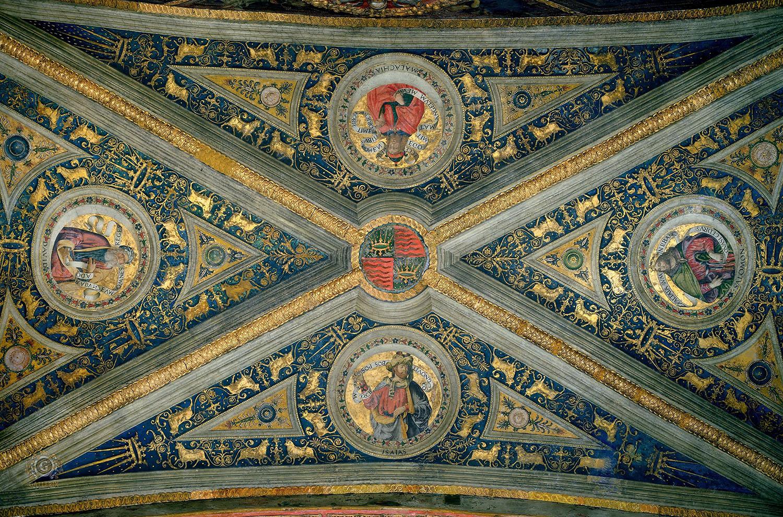 Пинтуриккьо. Фрески в апартаментах Борджиа в Ватикане. Изображение с сайта aria-art.ru