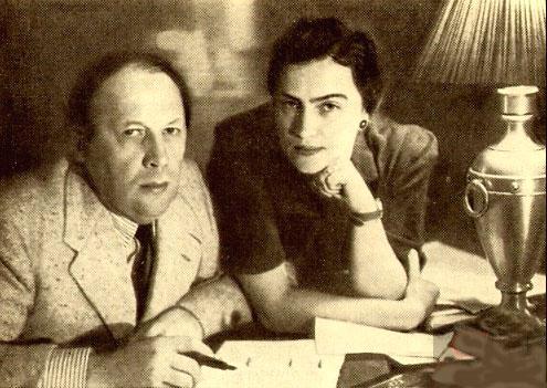 А. Толстой и Л. Баршева.