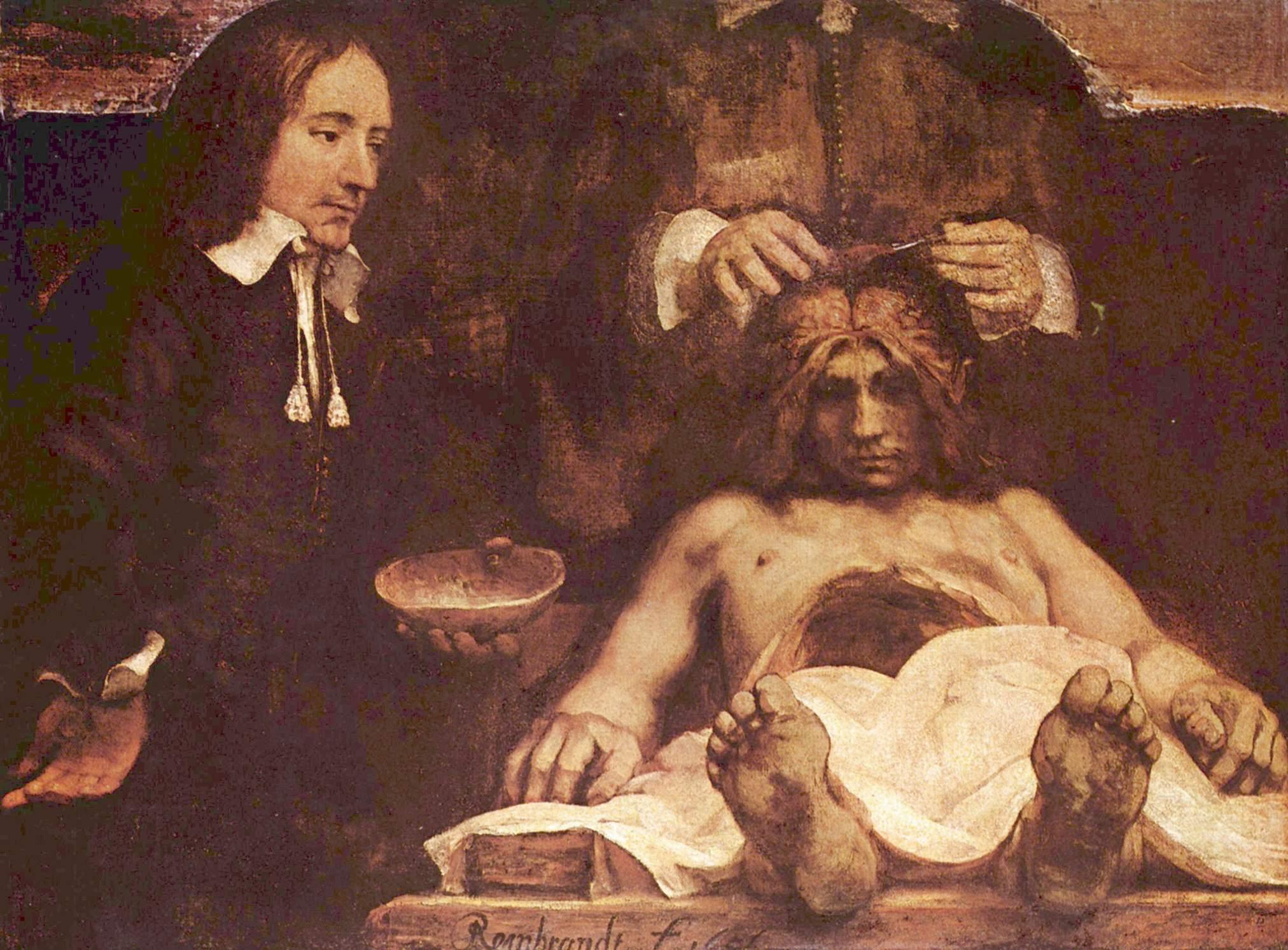 Рембрандт ван Рейн. Урок анатомии. 1656.