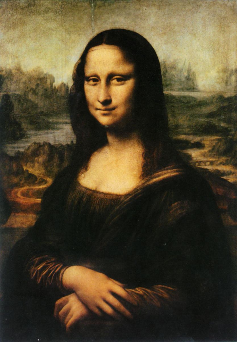 Леонардо да Винчи. Мона Лиза. 1503.