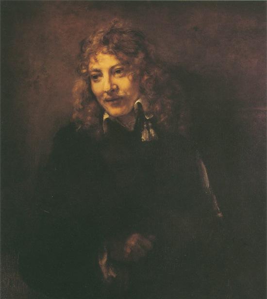 Рембрандт ван Рейн. Портрет Николаса Брейнинга. Фрагмент. 1652.