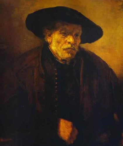 Рембрандт ван Рейн. Портрет брата Адриана. 1654.