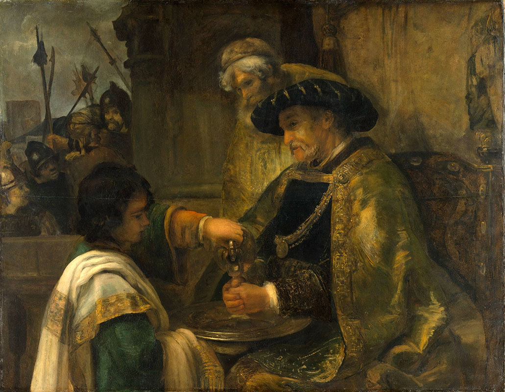Рембрандт ван Рейн. Пилат умывает руки.