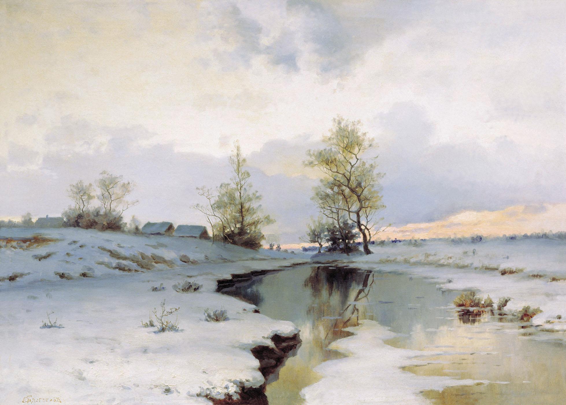 Весна в живописи