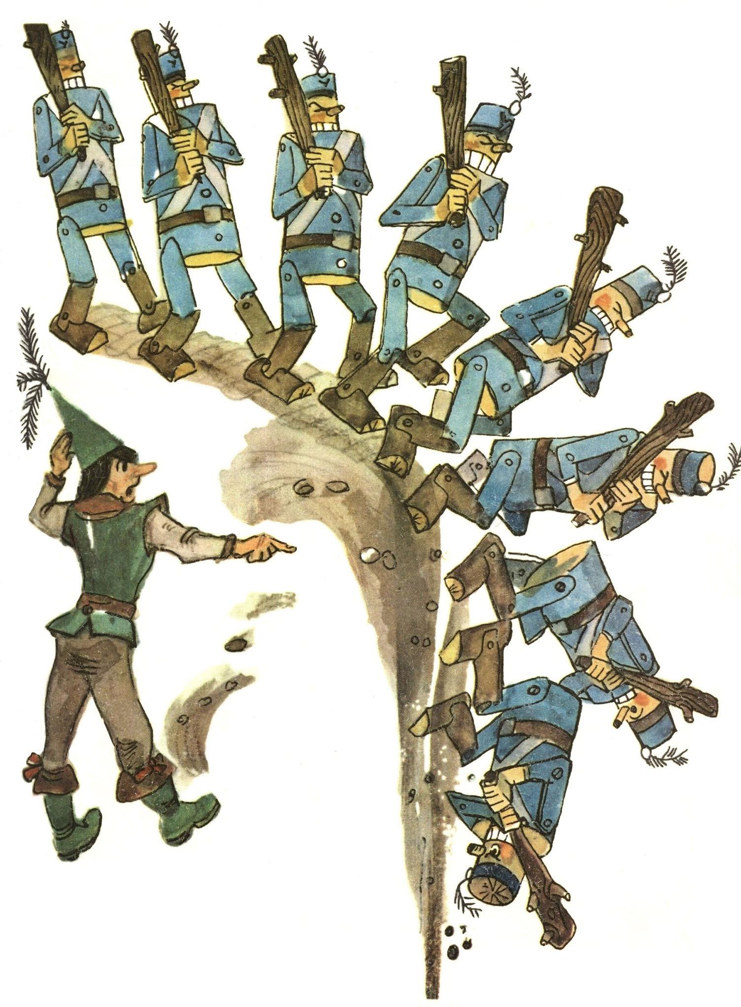 интерьерная рисунки из книги урфин джюс именно мужчина