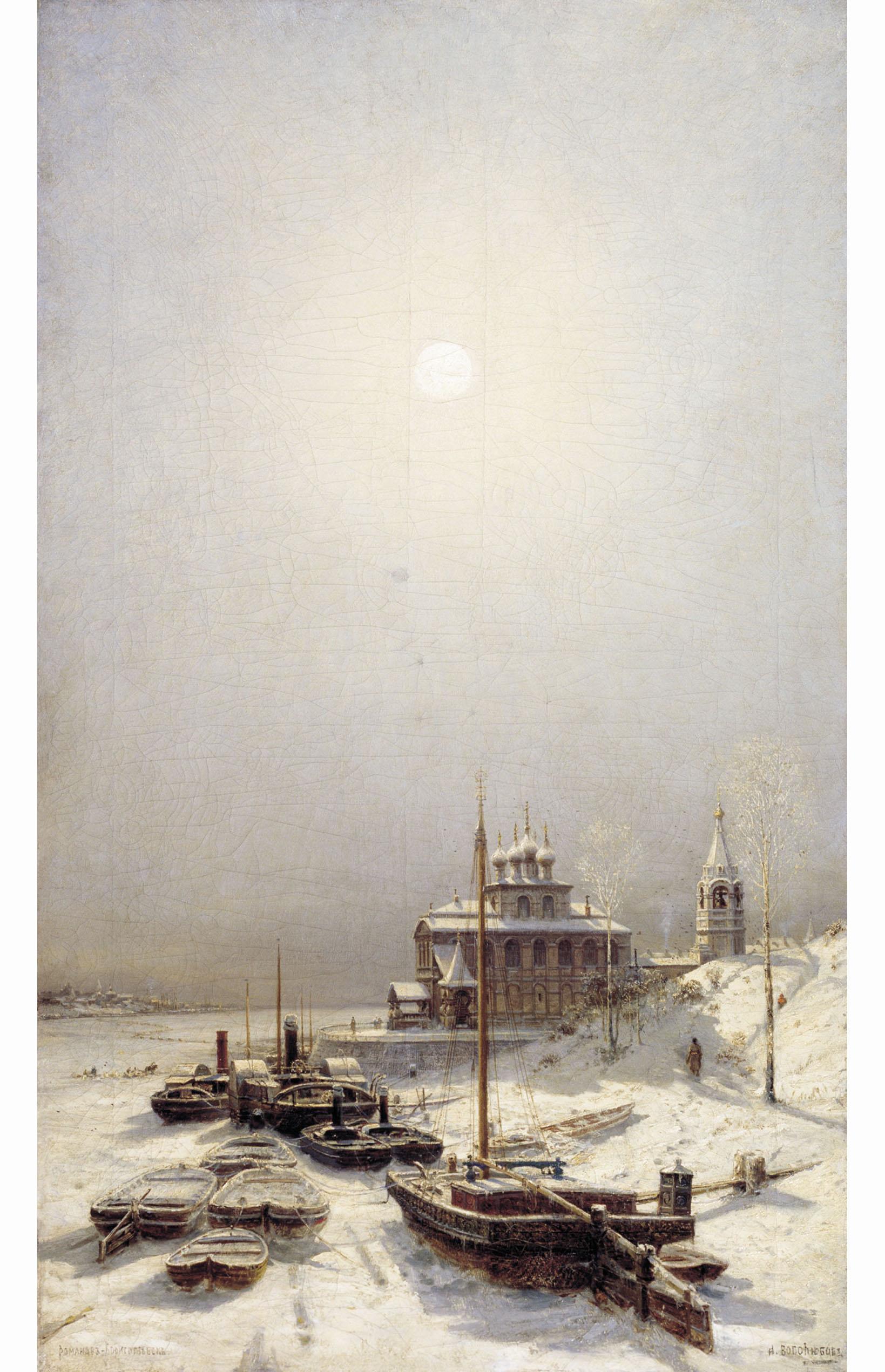 Алексей Боголюбов. Зима в Борисоглебске.